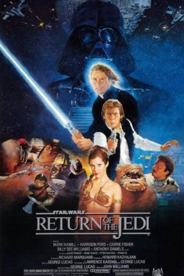"""""""Star Wars Episodio VI: El regreso del Jedi"""" se estrenó el 25 de mayo de 1983. Foto:IMDb"""