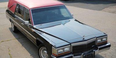 """Este será el auto que utilicen """"Las Cazafantasmas"""" Foto:Twitter/paulfeig"""