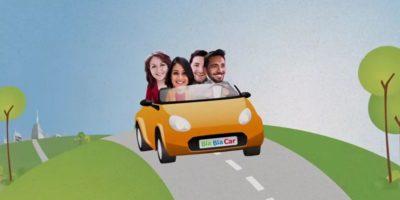 Usuarios que deseen viajar buscarán conductores que vayan a un destino. Foto:vía BlaBlaCar