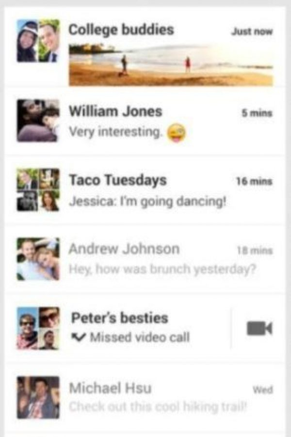 5- Hangouts. Foto:Google Inc.