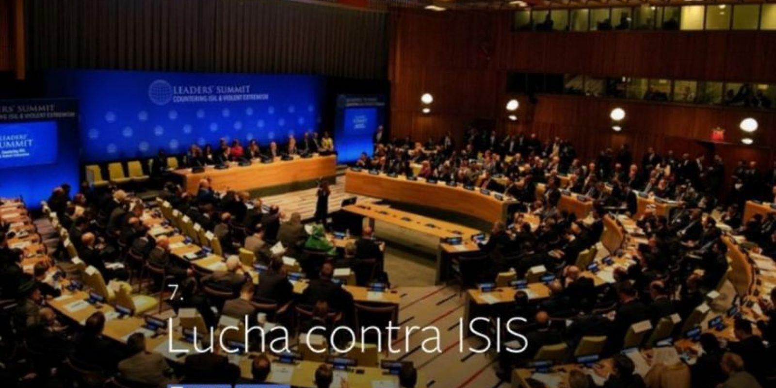 7- Lucha contra Estado Islámico. Foto:vía facebook.com
