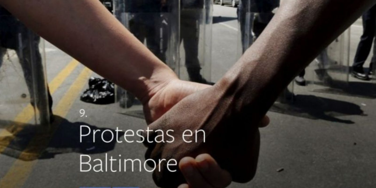 9- Protestas en Baltimore. Foto:vía facebook.com