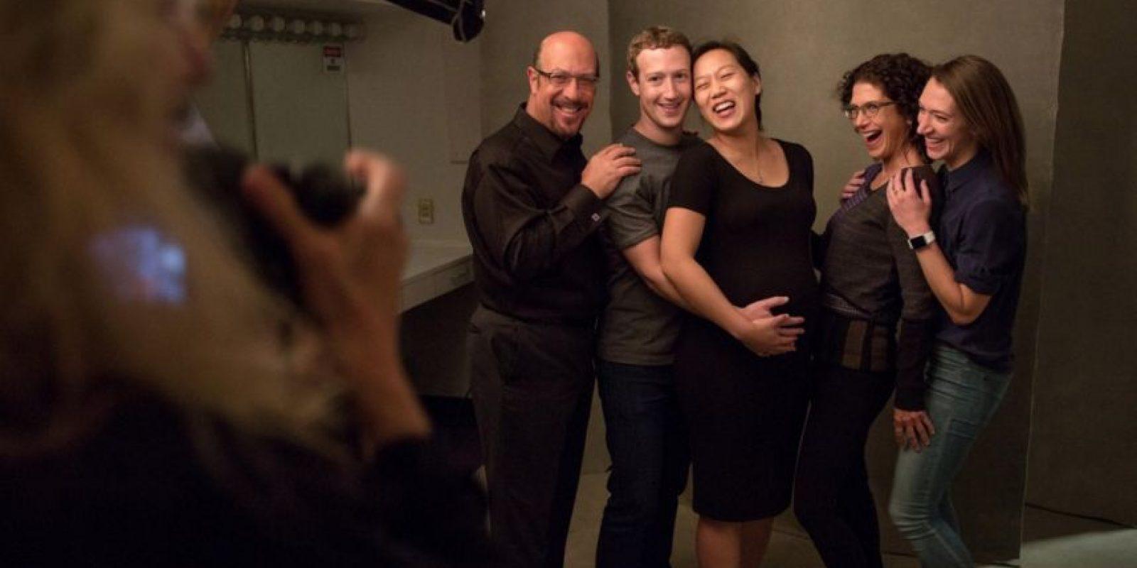 Los amigos de la familia. Foto:facebook.com/zuck