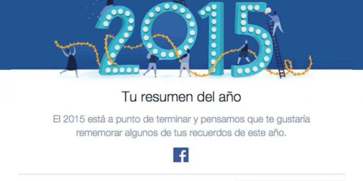 Así pueden ver su resumen del año en Facebook