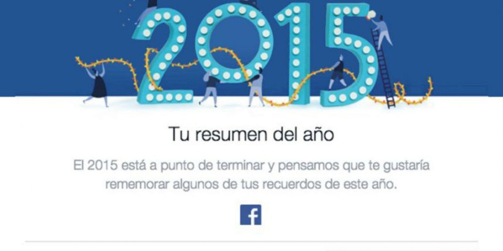 Su resumen del año ya está listo. Foto:vía facebook.com