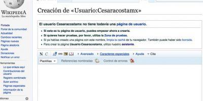De esta forma comienzan todos los artículos de Wikipedia. Foto:Wikipedia