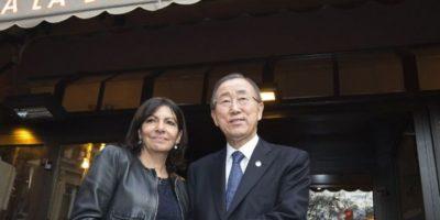 Ban ki-Moon, secretario general de las Naciones Unidas. Foto:AFP