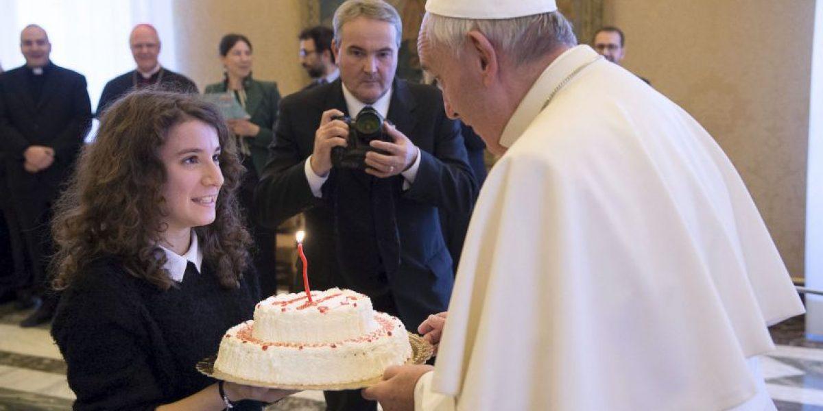 Fotos: Así celebró el papa Francisco su cumpleaños número 79