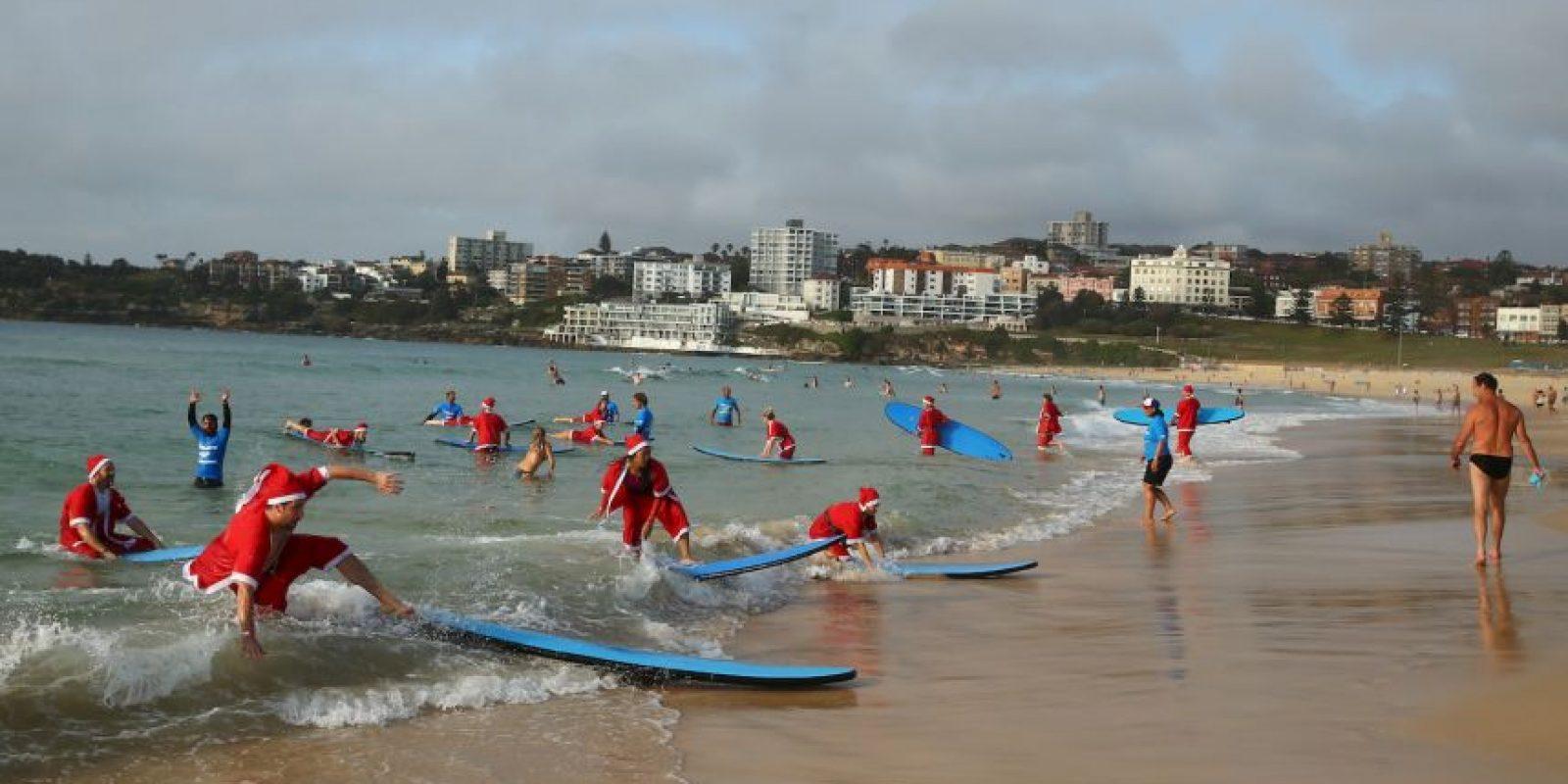 El clima estuvo a favor de todos los principiantes. Foto:Getty Images