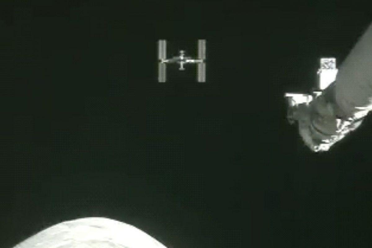 Parecidas levemente a esta fotografía de la Estación Espacial Internacional. Foto:Vía nasa.gov