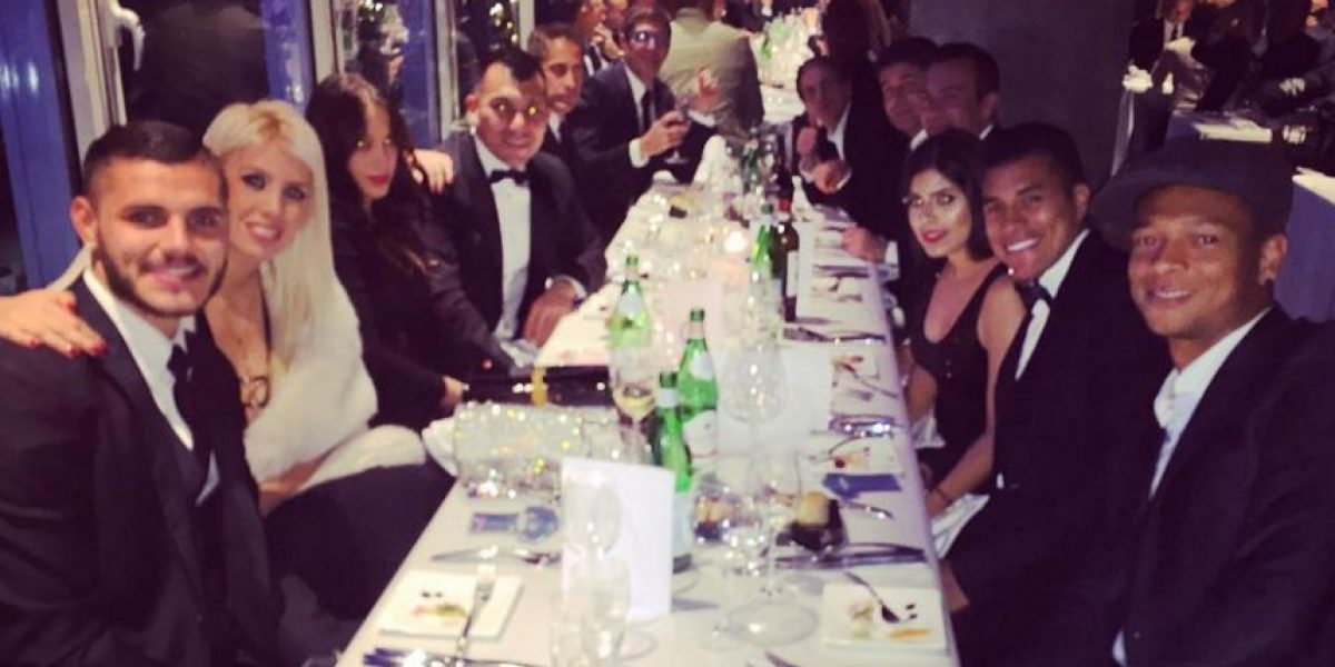 Fotos: El provocativo escote de una novia del Inter de Milán