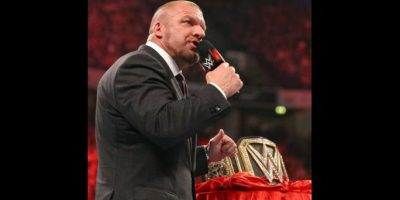 """Triple H acompañó a NXT en en el evento en Inglaterra llamado """"NXT Takeover: London"""" Foto:WWE"""