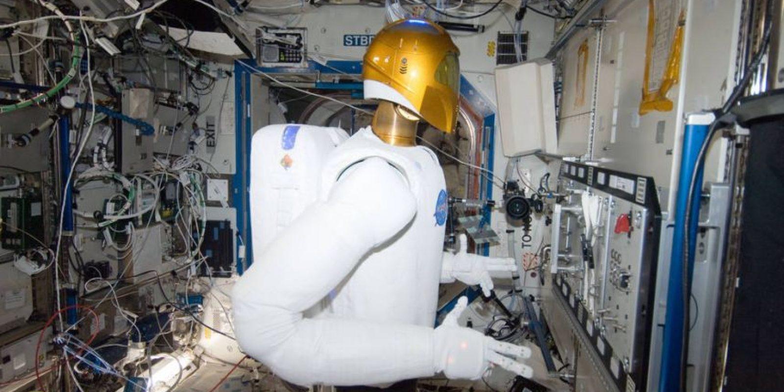 Robonaut 2, así luce el robot de la NASA. Foto:Vía nasa.gov