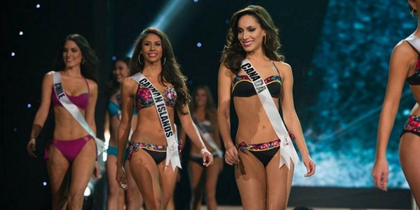 Por ejemplo: Paola Nunez, Miss Canadá, nació en República Dominicana, pero tiene ambas nacionalidades. María Belén Jerez, Miss Chile, nació en Argentina. Miss Kosovo, Mirjeta Shala, vive en Nueva York, y tiene triple nacionalidad: kosovar, albanesa y estadounidense. Catalina Morales, Miss Puerto Rico, nació en Colombia. Foto:Miss Universo
