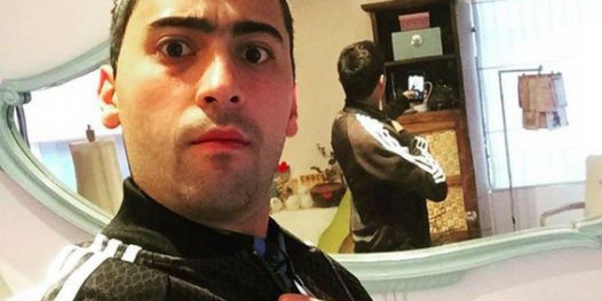 El actor Ariel Sánchez le peleó a la Policía Nacional