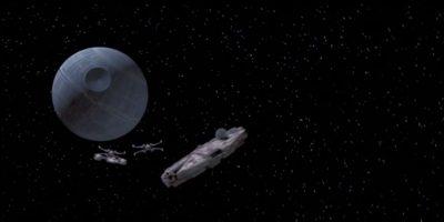 """La famosa """"Estrella de la muerte"""", propiedad de los antagonistas de la historia. Foto:Universal Studios"""