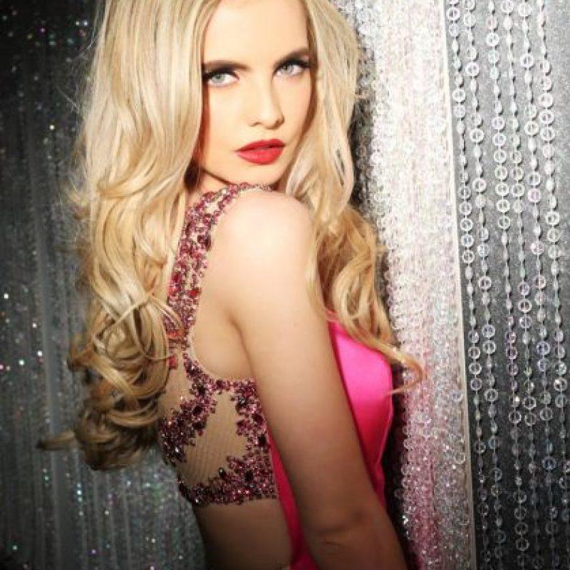 Joanna Cooper es Miss Irlanda Foto:vía facebook.com/MissUniverse