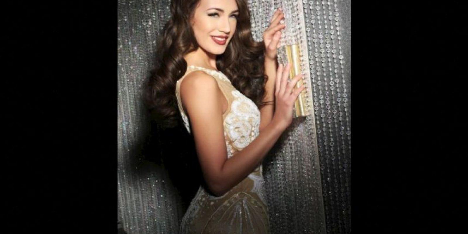 Denisa Vysnovska es Miss Eslovaquia Foto:Facebook.com/MissUniverse