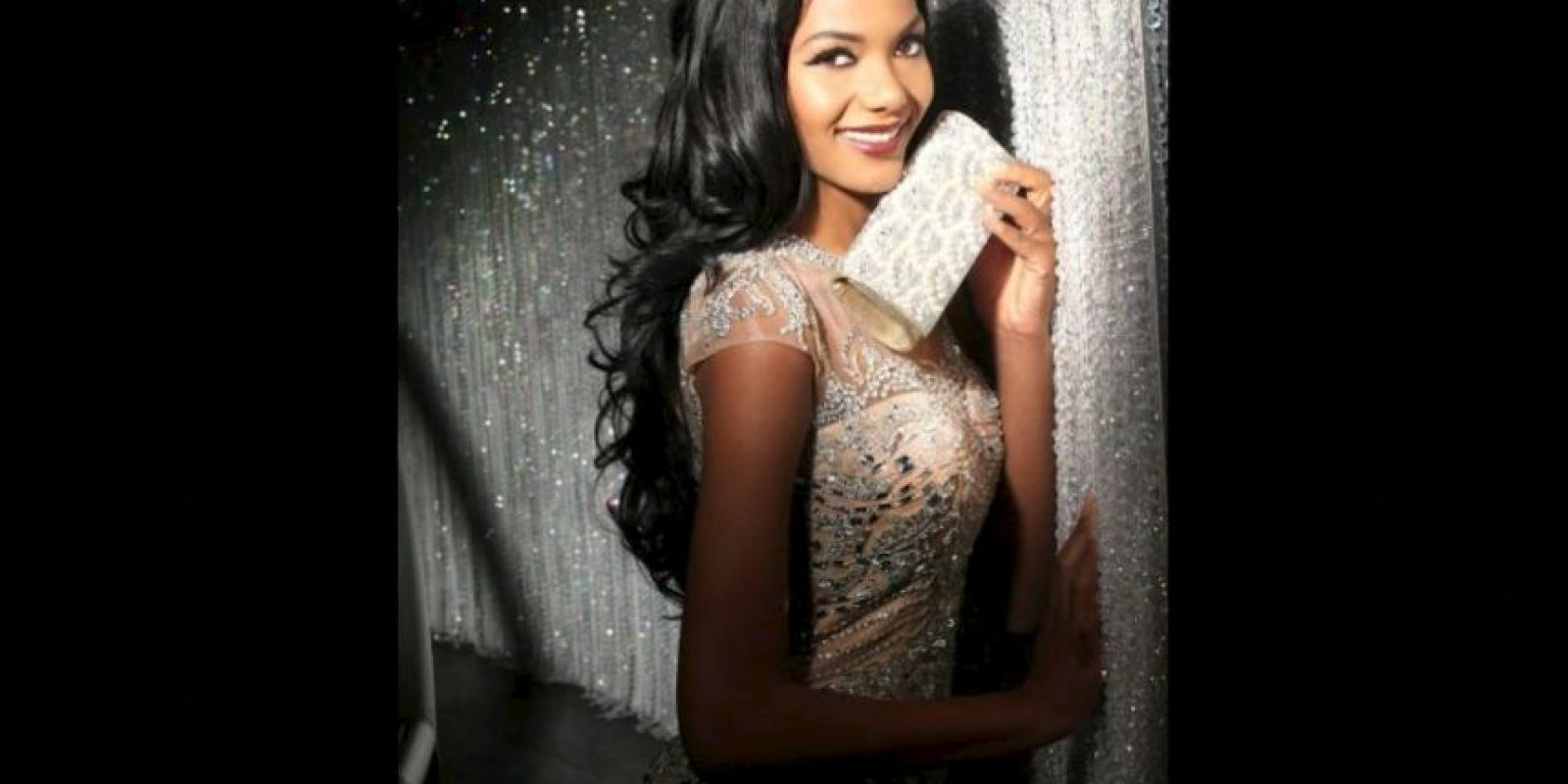 Whitney Houston A. Shikongo es Miss Angola Foto:Facebook.com/MissUniverse