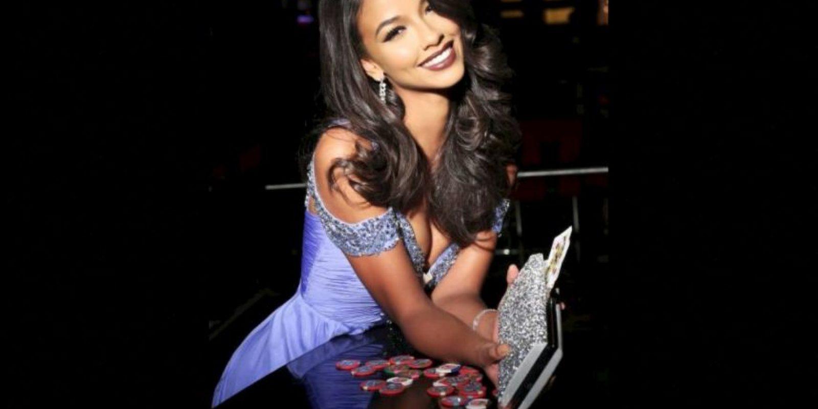 Flora Coquerel es Miss Francia Foto:Facebook.com/MissUniverse