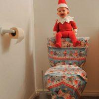 Alan Lawrence decidió disfrazar a su bebé de cuatro meses de un dulce duende de la Navidad y este fue el resultado. Foto:Vía Instagram/@thatdadblog
