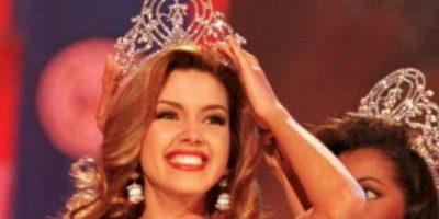 Alicia Machado ganó Miss Universo en 1996. Foto:Getty Images