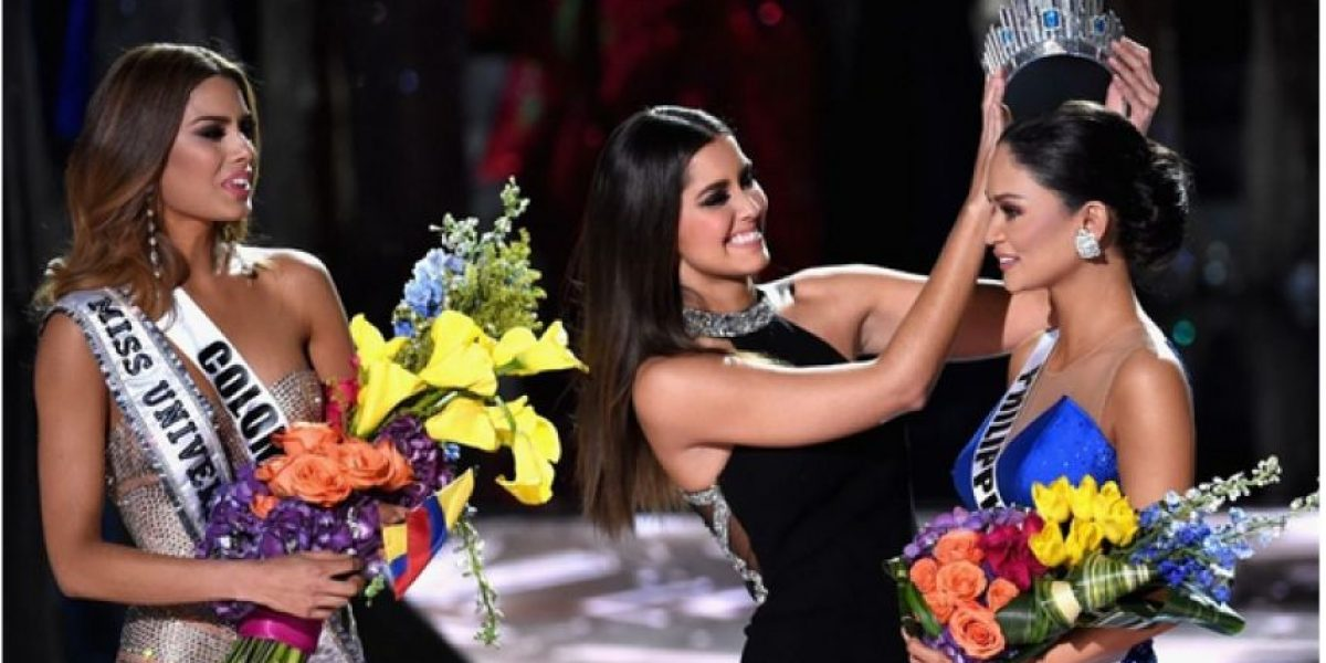 En medio de la polémica, Miss Filipinas se llevó la corona de Miss Universo