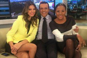 Le aplicaron el 'por allá no voy' a presentadora de Caracol Noticias Foto:Instagram Mabel Lara