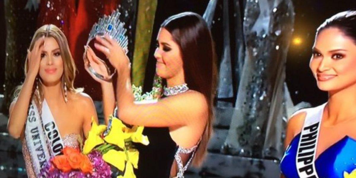 Insólito error del presentador de Miss Universo 2015