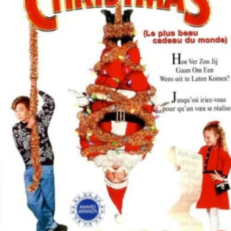 """3- """"El mejor regalo"""". Ethans están a punto de casarse de nuevo. Cuando Hallie va a visitar a Santa Claus, ella pide un regalo inusual -que quiere a sus padres juntos de nuevo. Foto:Paramount Pictures"""