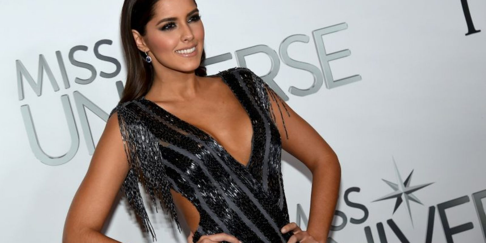 LA actual reina del certamen Paulina Vega Foto: Getty Images