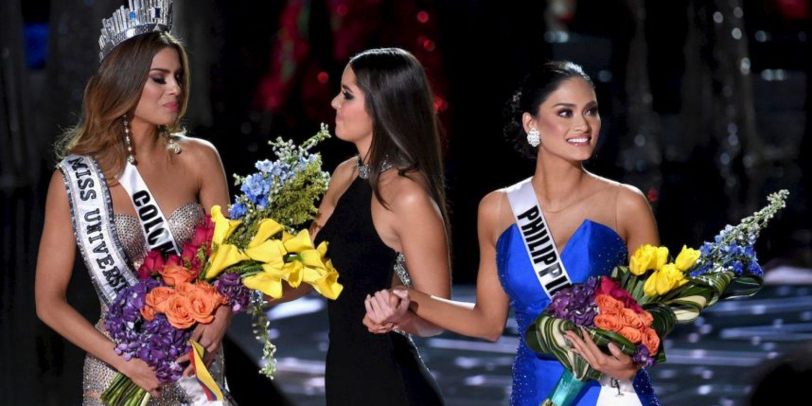 """""""Esto me tiene muy disgustada, Colombia realmente se lo merecía, ella era la ganadora y cuando la nombraron me puse muy feliz"""" Foto:Getty Images"""