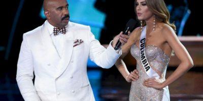 Disculpó a Steve Harvey, quién coronó por error a Miss Colombia. Foto:Getty Images