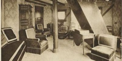 El apartamento llegó a tener tanta fama, que incluso le pidieron a Eiffel que rentara el apartamento. Foto:vía Atlas Obscura
