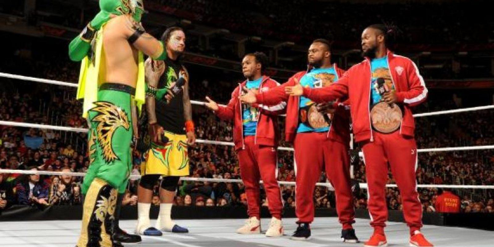 Big E forma parte del actual equipo Campeón de Parejas Foto:WWE
