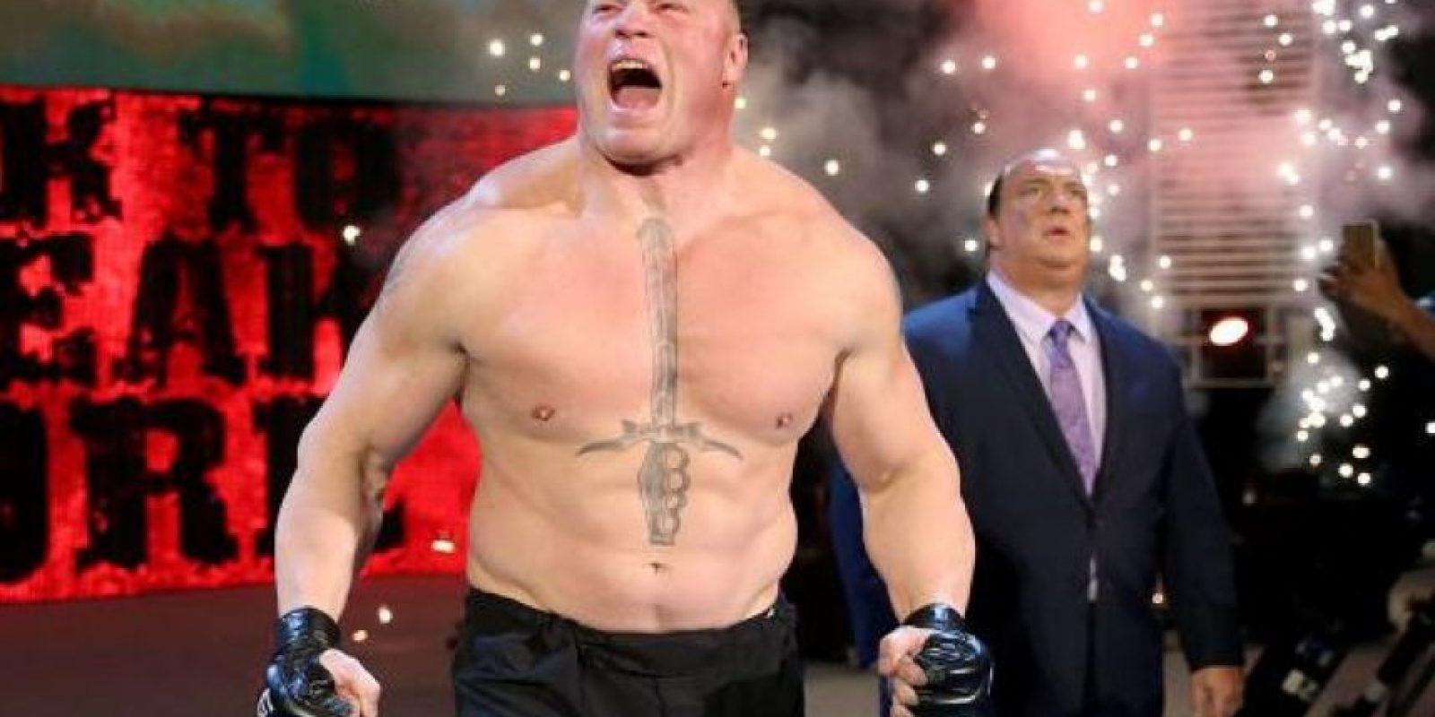 """El miembro de """"The New Day"""" quiere una pelea con Brock Lesnar Foto:WWE"""