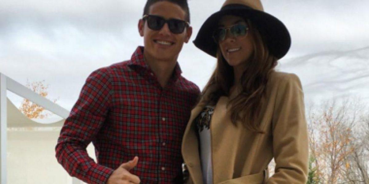 Fotos: James y Daniela de vacaciones en Dubái