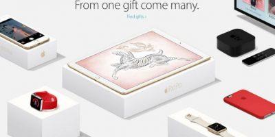 Las mejores recomendaciones para elegir el regalo perfecto. Foto:Apple