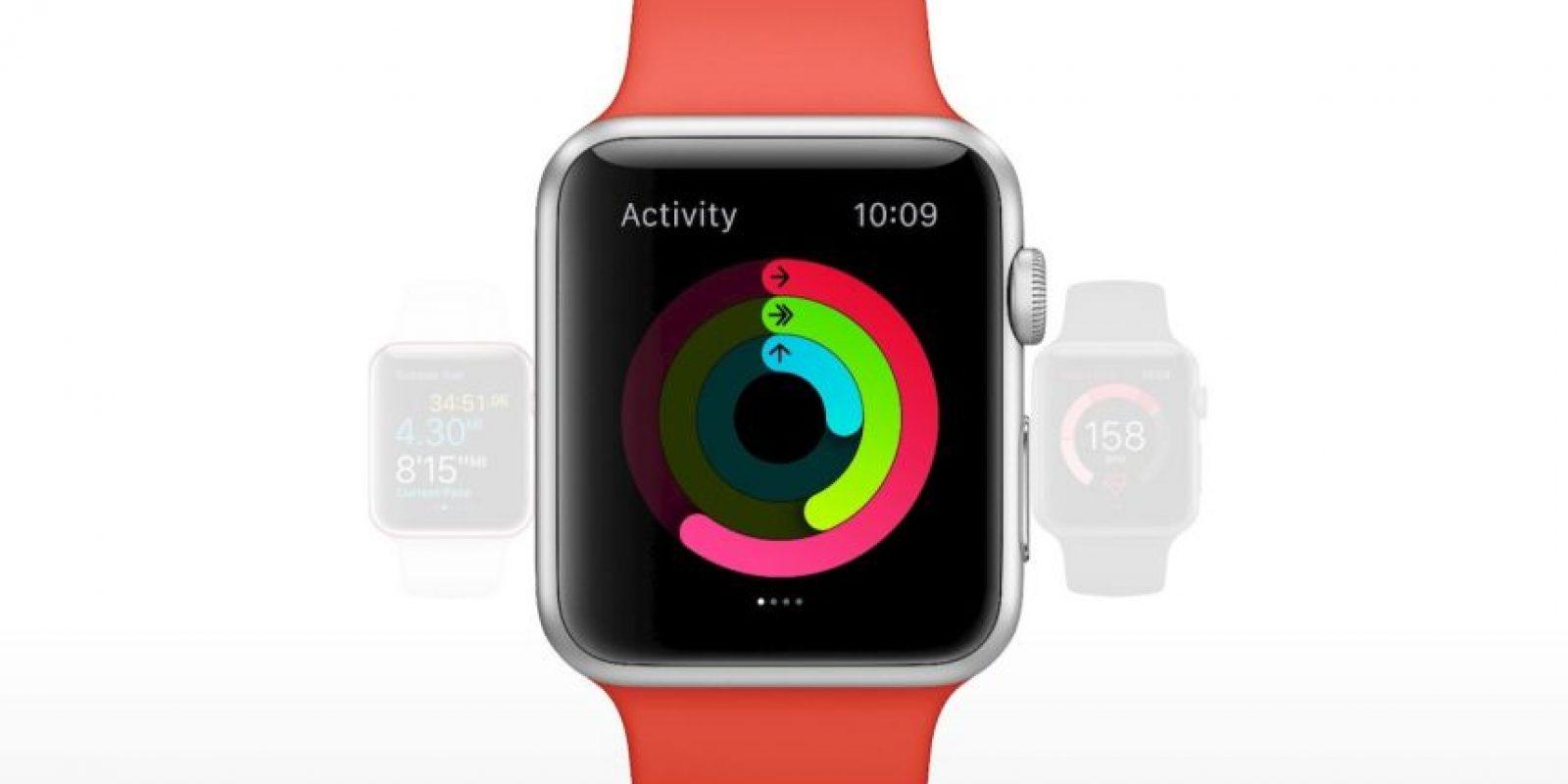 Apple Watch está disponible en tres diferentes colecciones desde 349 dólares. Foto:Apple