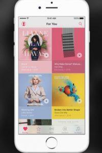 """El servicio de música en streaming de Apple con más de 30 millones de canciones; incluido el nuevo documental de Taylor Swift; además de características exclusivas como """"Connect"""" para interactuar con los artistas, la estación de radio """"Beats 1"""", entre otras más. Foto:Apple"""