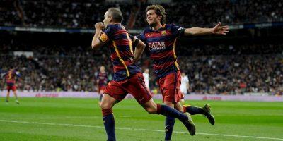 Y Andrés Iniesta no se cansan de ganar títulos Foto:Getty Images