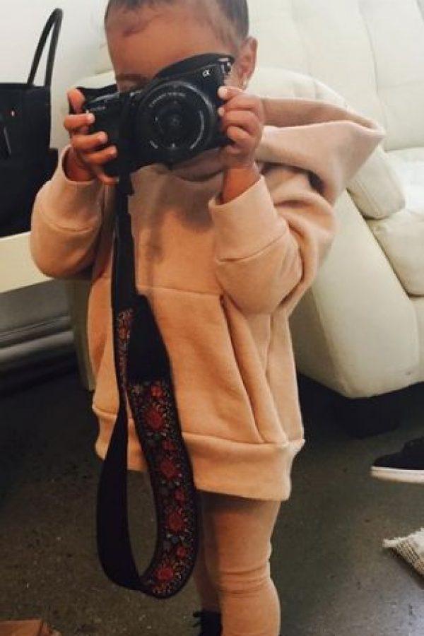 North West es la hija de Kim Kardashian y Kanye West. Foto:Grosby Group