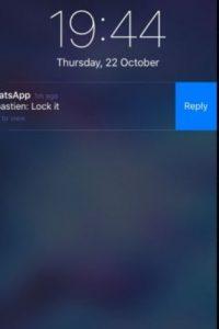 3- Responder desde las notificaciones en el iPhone sin necesidad de entrar en la app. Foto:vía Tumblr.com