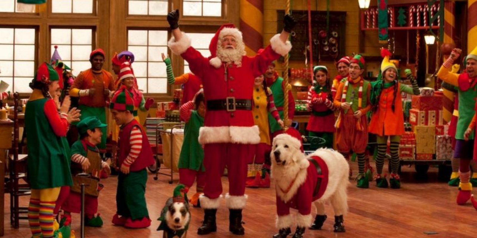 """5. """"Santa Paws 2: Los cachorros de Santa"""". Foto:vía Netflix"""