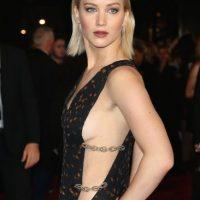 """8. Su personaje más popular es el de """"Katniss Everdeen"""" en la cinta de """"Los Juegos del Hambre"""". Foto:Getty Images"""