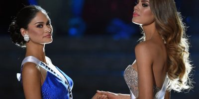Cuando en realidad ella tenía el segundo lugar en el concurso de belleza. Foto:Getty Images