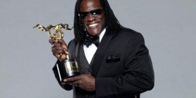 """El rapero ganó el """"Momento cómico del año"""", por pensar que estaba incluido en la lucha de """"Money in the Bank"""" Foto:WWE"""