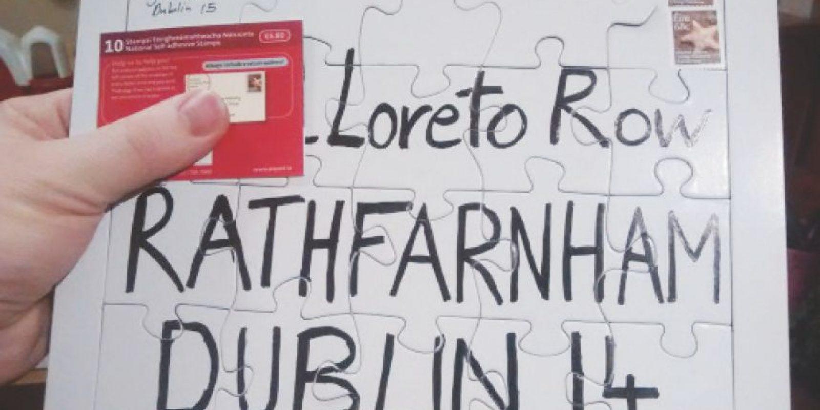 El irlandés David Curran hacía que el servicio postal descifrará las direcciones donde deseaba que llegara su correspondencia. Foto:Twitter