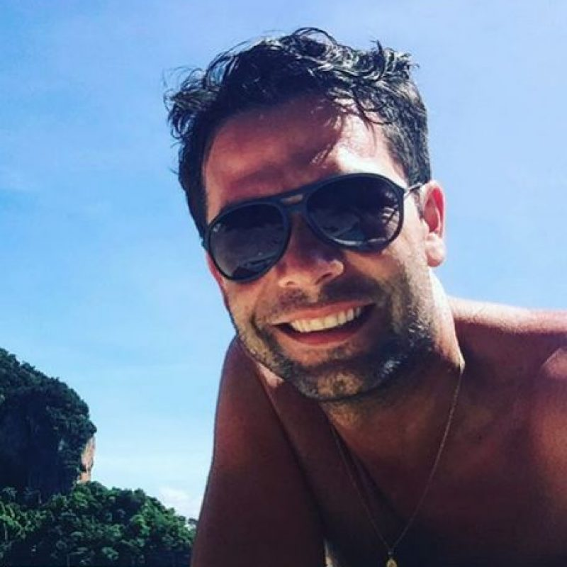 Iván Lalinde, presentador de 'Asia Express' Foto:Instagram ivanlalindeg