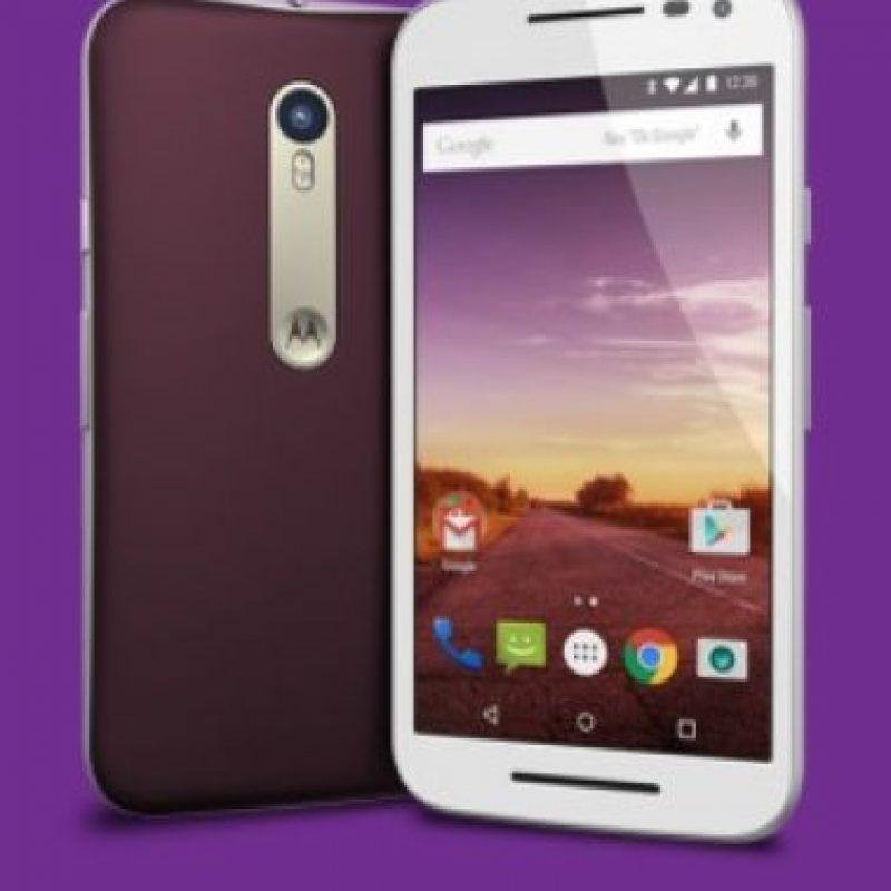 Pantalla de 5 pulgadas a 720 p con resolución HD (1280 * 720), 294 ppi. Foto:Motorola